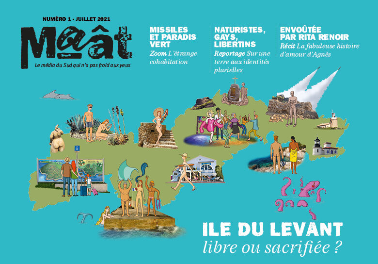 Couverture magazine maat